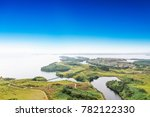 clouds and mist floating in the ... | Shutterstock . vector #782122330