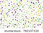 mardi gras bright colorful... | Shutterstock .eps vector #782137120