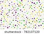mardi gras bright colorful... | Shutterstock .eps vector #782137120
