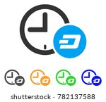 dash credit time icon. vector... | Shutterstock .eps vector #782137588