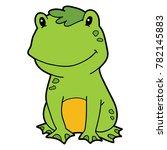 vector illustration of cute... | Shutterstock .eps vector #782145883