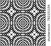 vector geometric checkered... | Shutterstock .eps vector #782151154