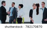 successful busines team  in a... | Shutterstock . vector #782170870