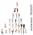 corporation diversity career | Shutterstock . vector #78218197