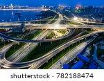 city highway vehicles in the... | Shutterstock . vector #782188474