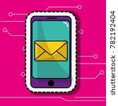 smartphone device design   Shutterstock .eps vector #782192404