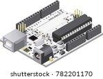 diy micro controller electronic ...   Shutterstock .eps vector #782201170
