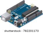 diy micro controller electronic ...   Shutterstock .eps vector #782201173