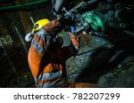 Miner Fixing Mineral Extractio...