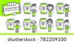 simple flat stylistics... | Shutterstock .eps vector #782209330
