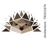abstract vector illustration.... | Shutterstock .eps vector #782211676