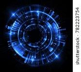 abstract background. luminous...   Shutterstock . vector #782223754
