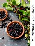 superfood maqui berry.... | Shutterstock . vector #782246998