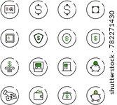line vector icon set   safe...   Shutterstock .eps vector #782271430