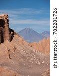 volcano licancabur from valle...   Shutterstock . vector #782281726