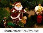 christmas and new year's tree...   Shutterstock . vector #782293759