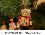 christmas and new year's tree... | Shutterstock . vector #782293780