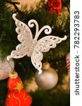 christmas and new year's tree... | Shutterstock . vector #782293783