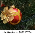 christmas and new year's tree... | Shutterstock . vector #782293786