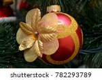 christmas and new year's tree... | Shutterstock . vector #782293789