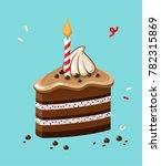 vector icon of a festive... | Shutterstock .eps vector #782315869