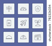 industry icons set with... | Shutterstock .eps vector #782326354
