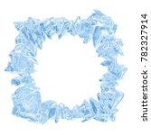 3d rendering  broken blue... | Shutterstock . vector #782327914