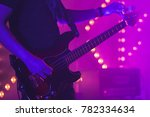 live rock music background ... | Shutterstock . vector #782334634