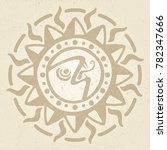 vintage ancient mexican vector... | Shutterstock .eps vector #782347666