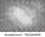 wave halftone engraving black... | Shutterstock .eps vector #782364040