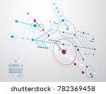 engineering technology... | Shutterstock . vector #782369458