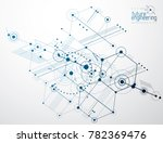 engineering technology... | Shutterstock . vector #782369476
