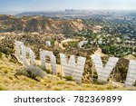 Hollywood Sign From Behind ...
