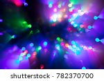abstract multicolor bokeh... | Shutterstock . vector #782370700