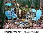 Miniature Fairies In A Rock...