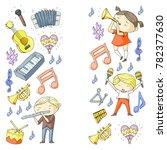 vector school of music musical...   Shutterstock .eps vector #782377630
