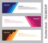 modern banner with paper art | Shutterstock .eps vector #782380339