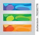 banner background modern vector ... | Shutterstock .eps vector #782382778