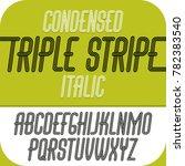 capital modern alphabet letters ... | Shutterstock . vector #782383540