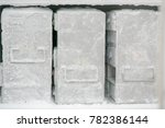 laboratory freezer for keep... | Shutterstock . vector #782386144