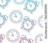 alarm clock time pattern image    Shutterstock .eps vector #782389090