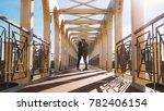 beautiful couple being in love  ... | Shutterstock . vector #782406154