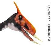 dsungaripterus reptile head 3d...   Shutterstock . vector #782407414