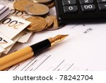 accounting | Shutterstock . vector #78242704