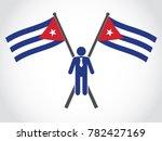 cuba emblem businessman   Shutterstock .eps vector #782427169