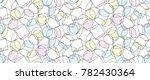 3d cylinder pattern. seamless... | Shutterstock .eps vector #782430364