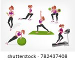 pump stretching yoga fit ball