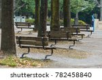 park in japan  | Shutterstock . vector #782458840