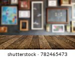 selected focus empty brown... | Shutterstock . vector #782465473