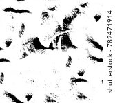 abstract black and white... | Shutterstock . vector #782471914